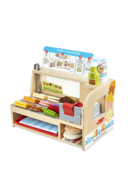 slice + stack sandwich counter toy
