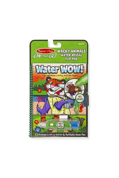 water wow wacky animals water reveal pad