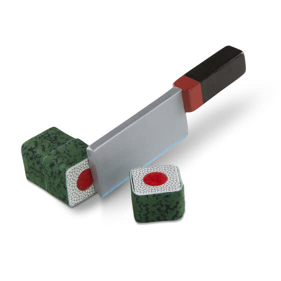 etched roll wrap slice sushi counter-3
