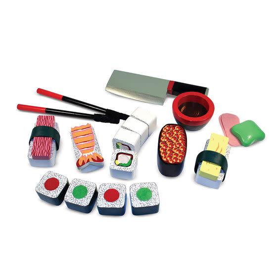 etched sushi slicing set toy-2
