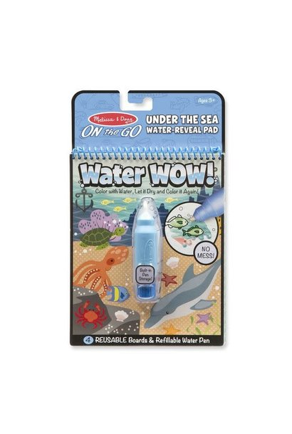 water wow! under the sea water art kit