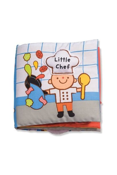 little chef fabric book
