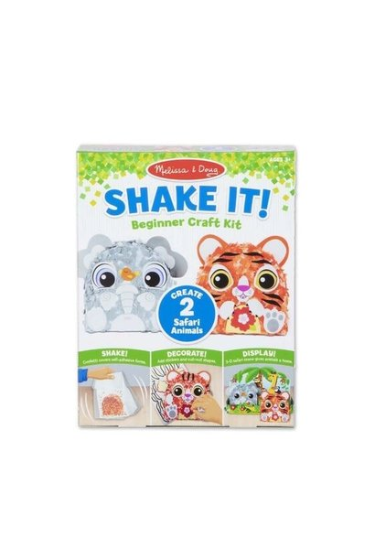 safari shake-it beginner craft kit