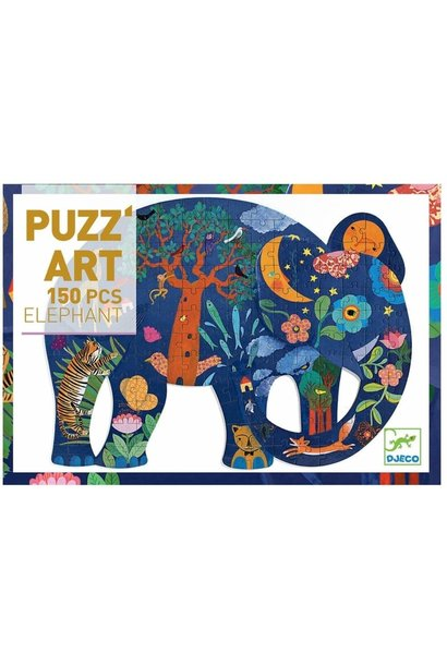 elephant puzz'art 150pc puzzle