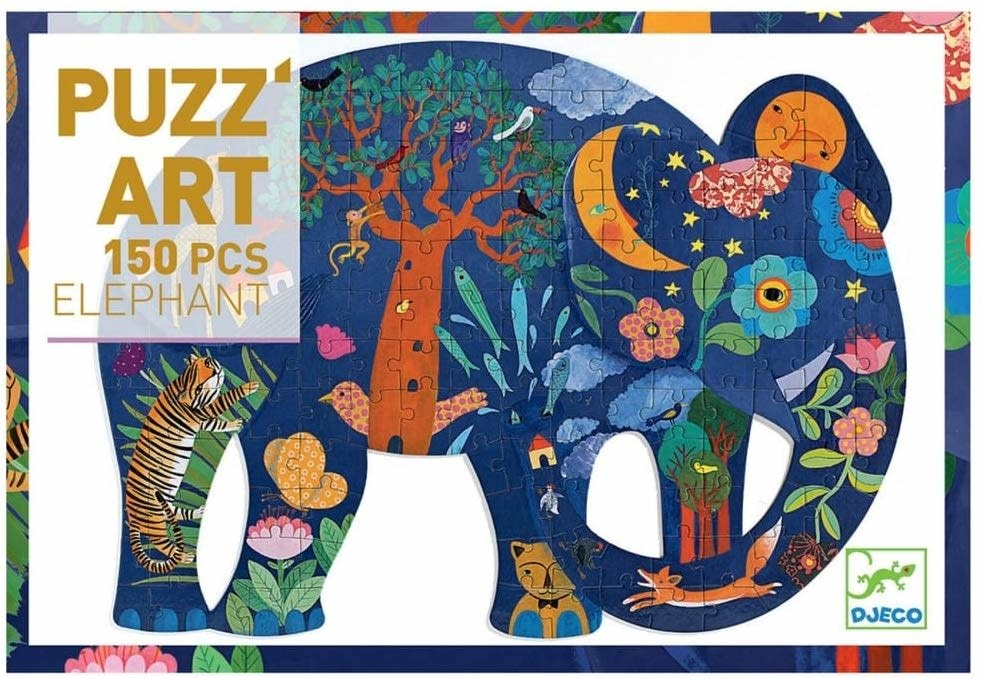 elephant puzz'art 150pc puzzle-1