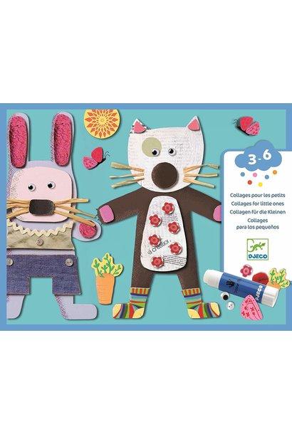 for little ones collage art kit