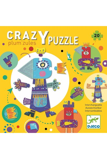 crazy plum'zules giant floor puzzle