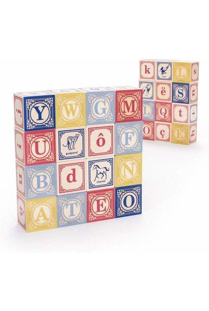 french abc blocks