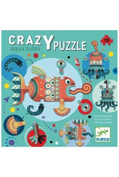crazy aqua'zules giant floor puzzle