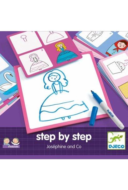 step by step josephine art kit