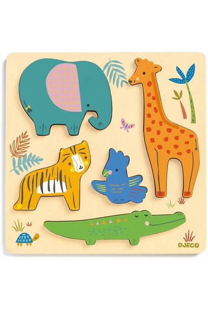 woody jungle wooden puzzles