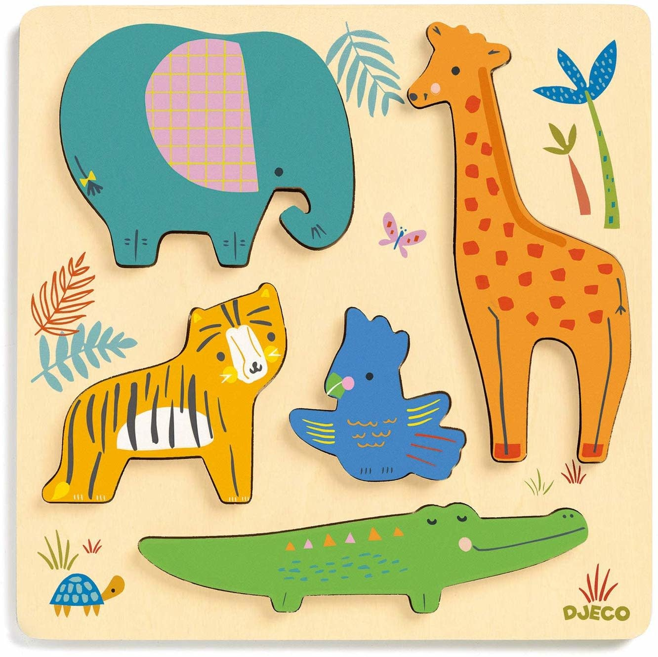 woody jungle wooden puzzles-1