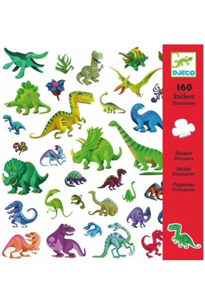 dinosaurs stickers petit gifts