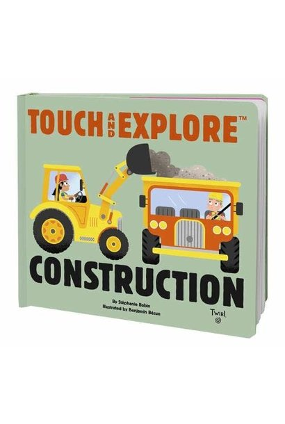 construction touch & explore book