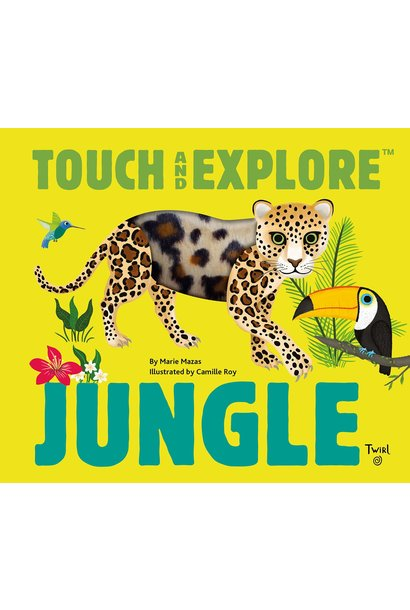 jungle animals touch & explore book