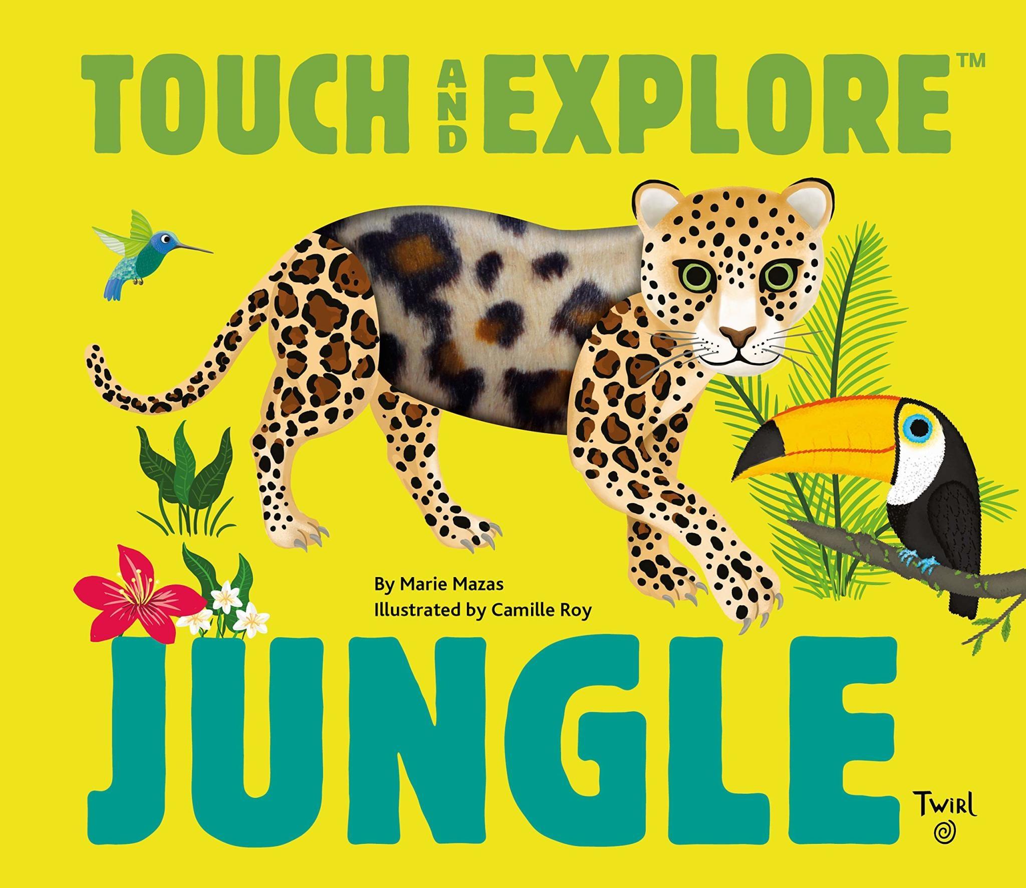 jungle animals touch & explore book-1