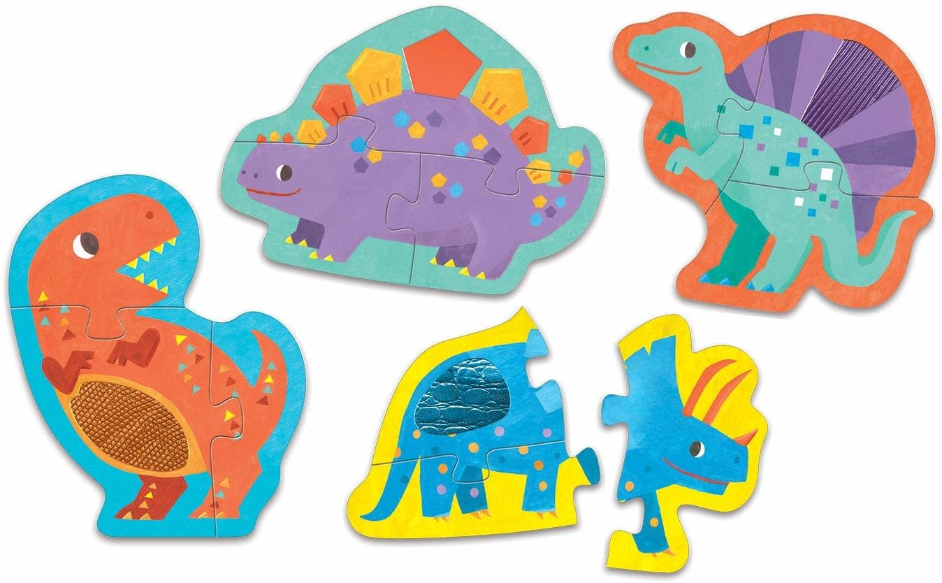 touch feel mighty dinosaurs puzzle-2