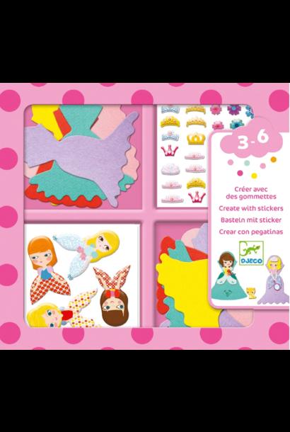 I love stickers princess kit