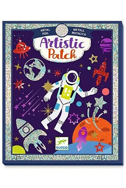 cosmos metal artistic patch art kit