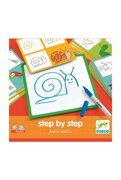 step by step animo art kit