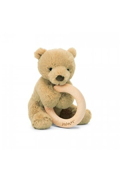 bear shooshu wooden ring