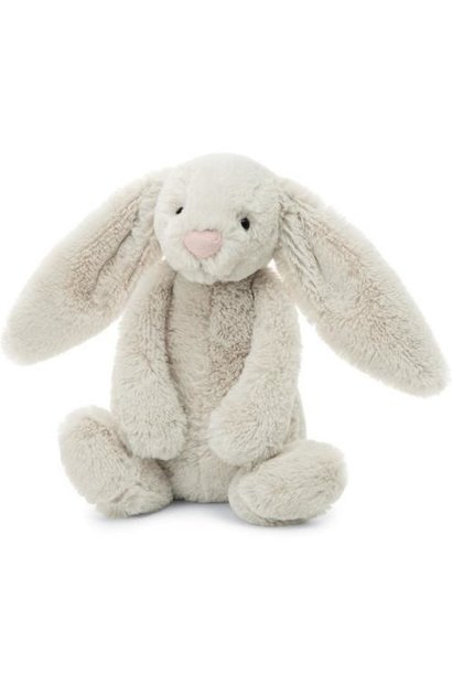 bashful oatmeal bunny stuffed animal medium