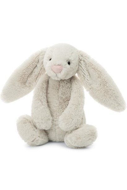 bashful oatmeal bunny stuffed animal small