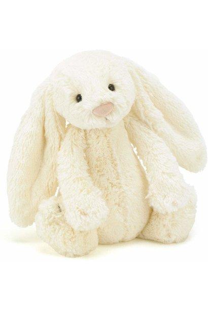 bashful cream bunny stuffed animal med
