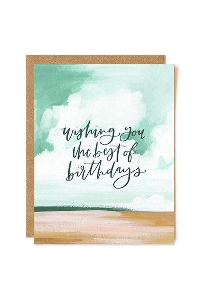 best birthday landscape card