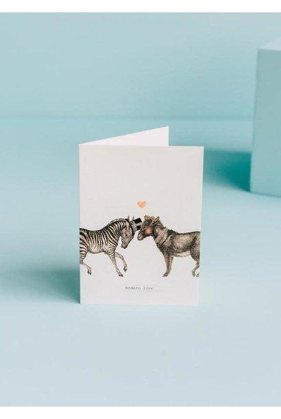 modern love card