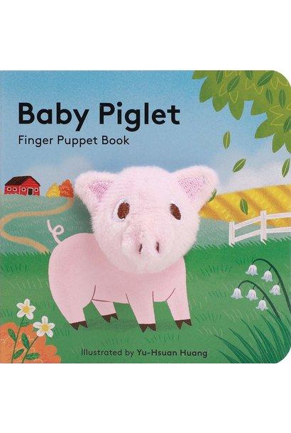 baby piglet: finger puppet book