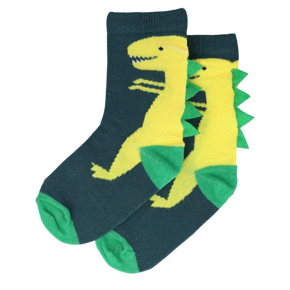 dinosaur sparkle socks 3-5yrs-1
