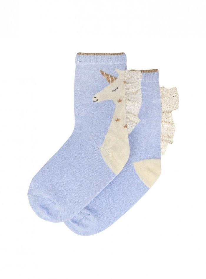 unicorn sparkle socks 3-5yrs-1