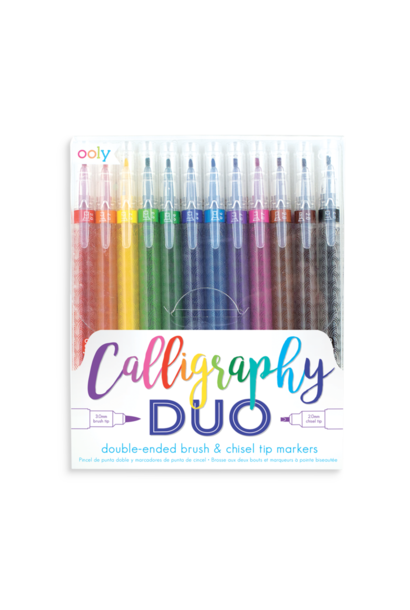 caligraphy duo pens