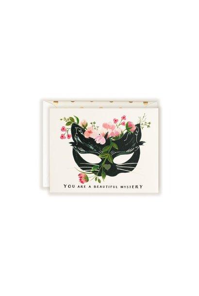 beautiful mystery card
