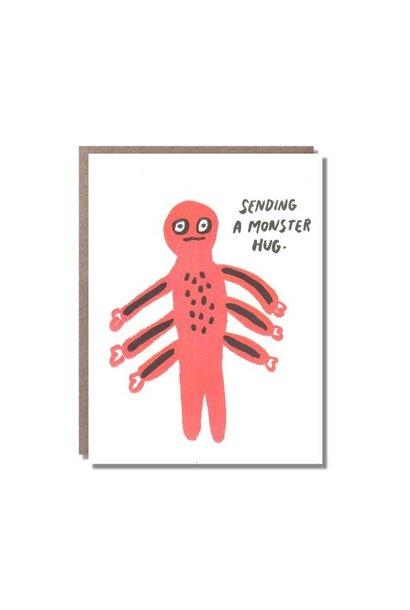 monster hugs card
