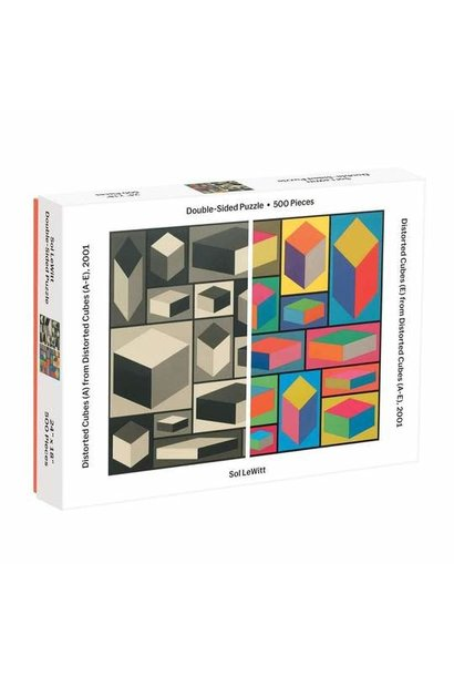 MoMA 2 sided Sol Lewitt 500pc puzzle