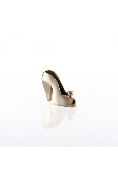 lulu shoe bookend gold