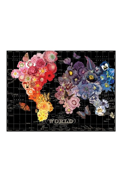 wendy gold full bloom 1000 pc puzzle