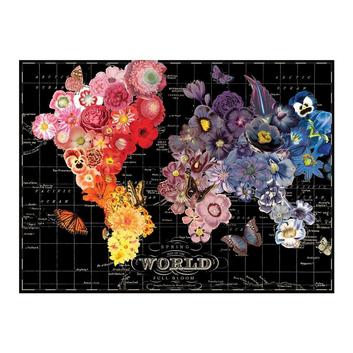 wendy gold full bloom 1000 pc puzzle-1