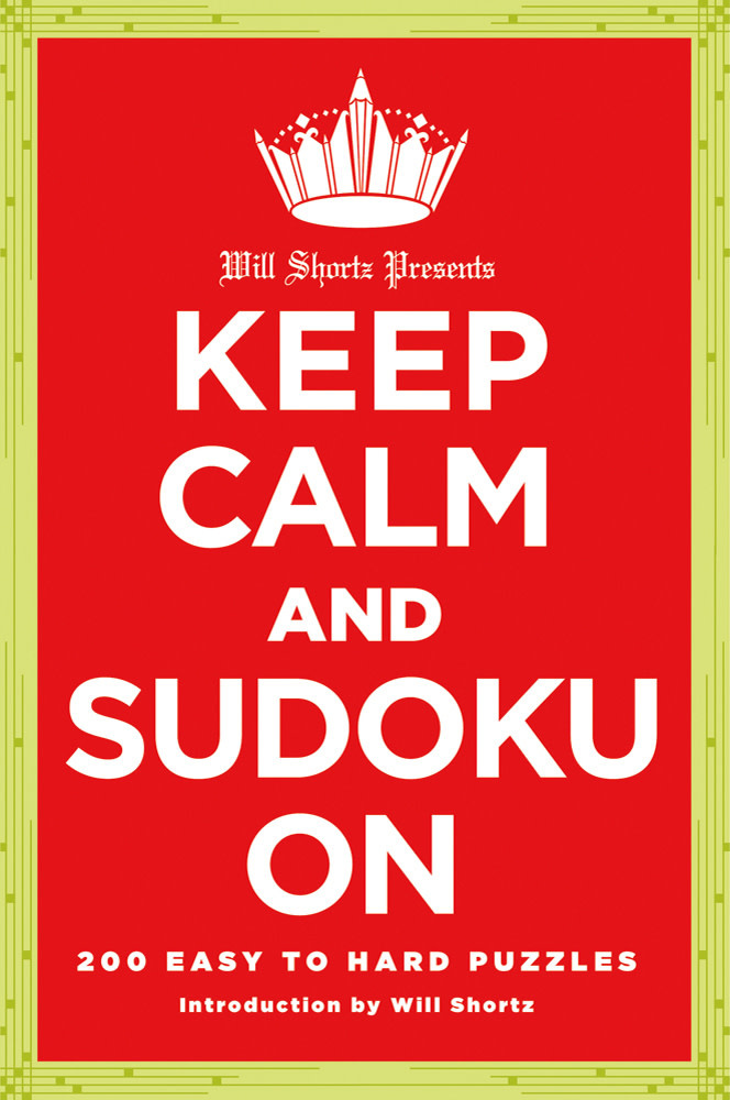 NYT keep calm and sudoku on book-1