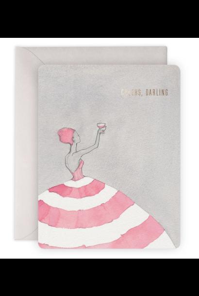 cheers darling card