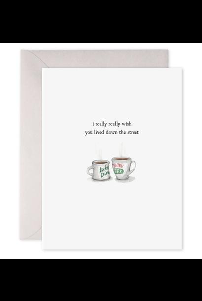 coffee cups card