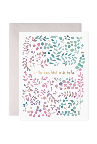 for the beautiful bride-to-be card