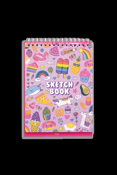 cute doodle world sketchbook