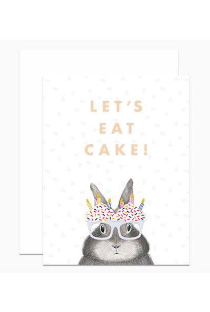 let's eat cake card
