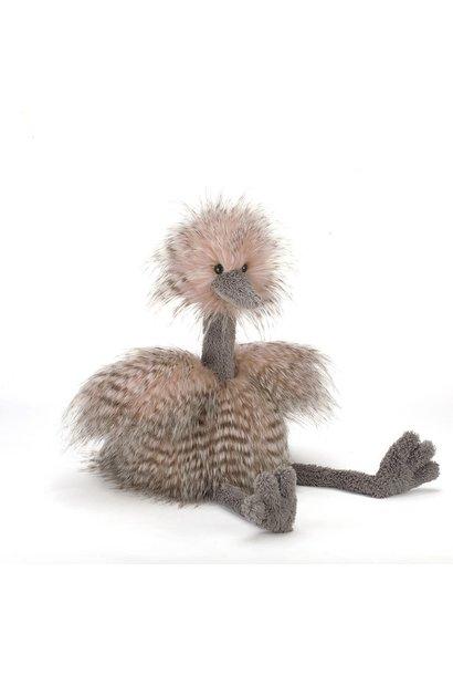odette ostrich stuffed animal