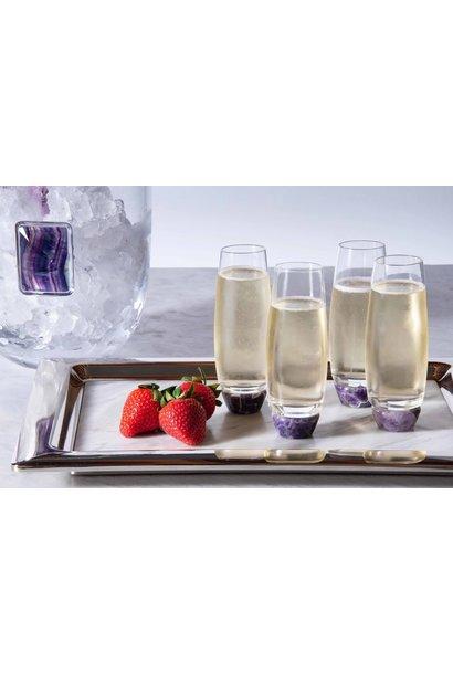 amethyst champagne glasses s2