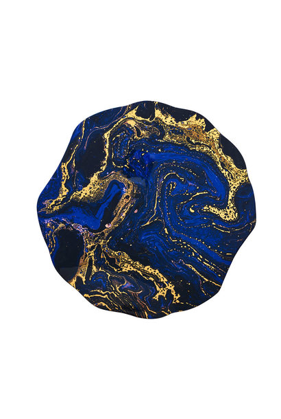 cosmos placemats midnight & gold s4