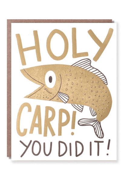 holy carp card